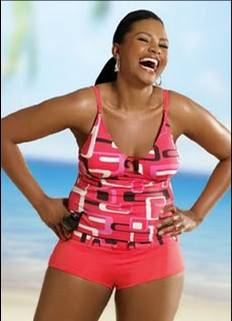 Swimwear for large hips / Plus size