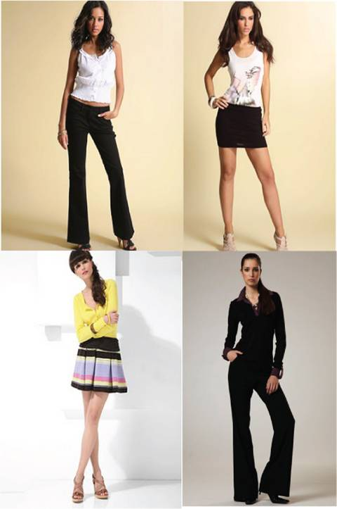 Trousers / skirts for long legs
