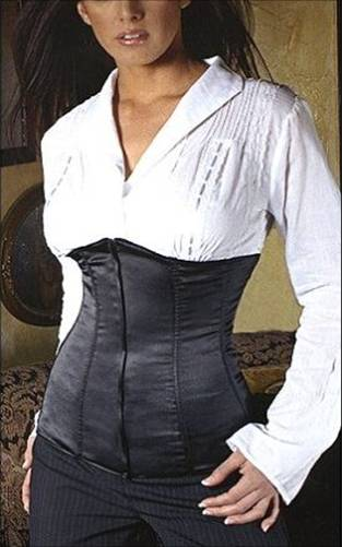 Under bust corset