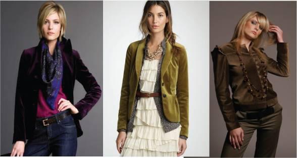 Velvet jacket / blazer