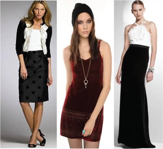Velveteen dress / skirt