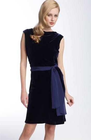 Velveteen dress petite