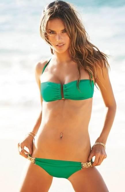 Victorias secret models belly piercing