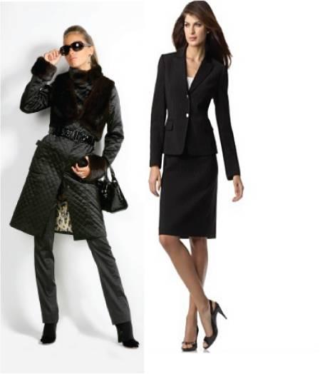 Black formal wear women