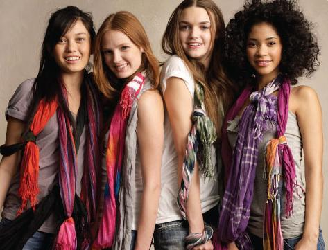 Difference between scarf and stole