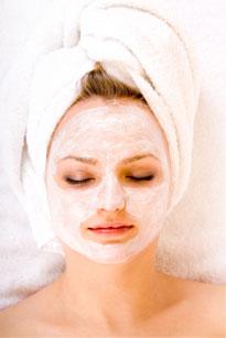 Face pack for dry skin
