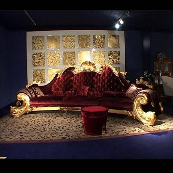 Michael Jackson Luxury Furniture On Auction  Nine Seat Sofa
