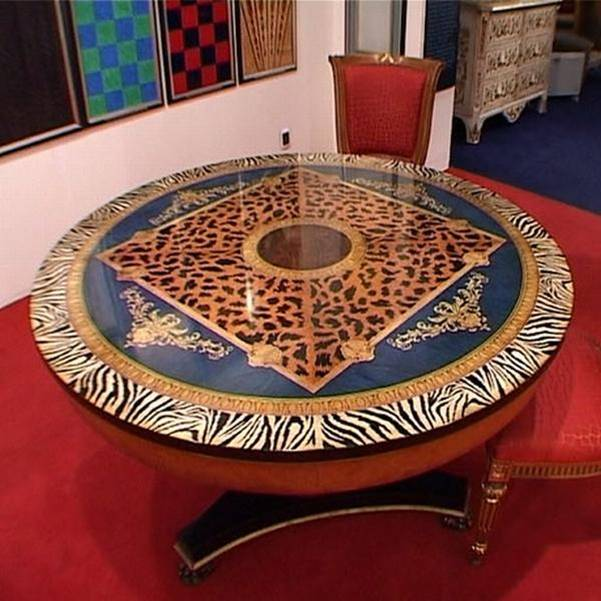Michael Jackson luxury furniture on auction- writing desk