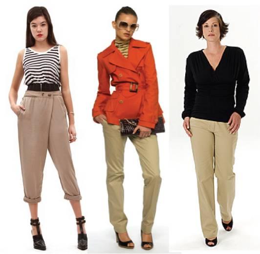 Wearing safari pants