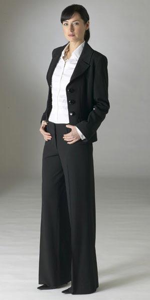 Women black formal wear