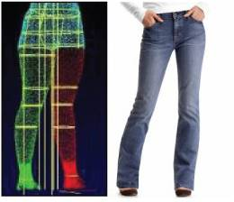 Benchmark custom jeans 3D Body  scan