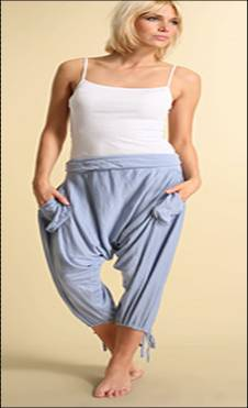 Dhoti pants for petite and small women
