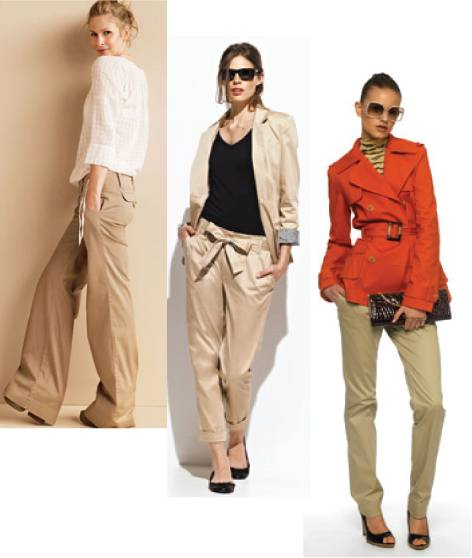 what color to wear with khaki pants - Pi Pants