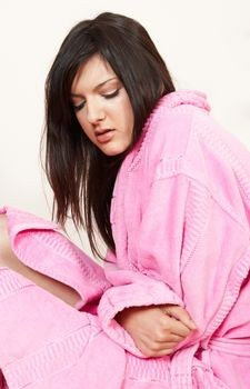What causes blood clots during periods