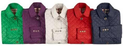 Burberry April Showers collection jackets