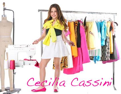 Cecilia Cassini: A 10 year old fashion designer