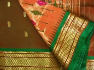 Paithani sarees patented
