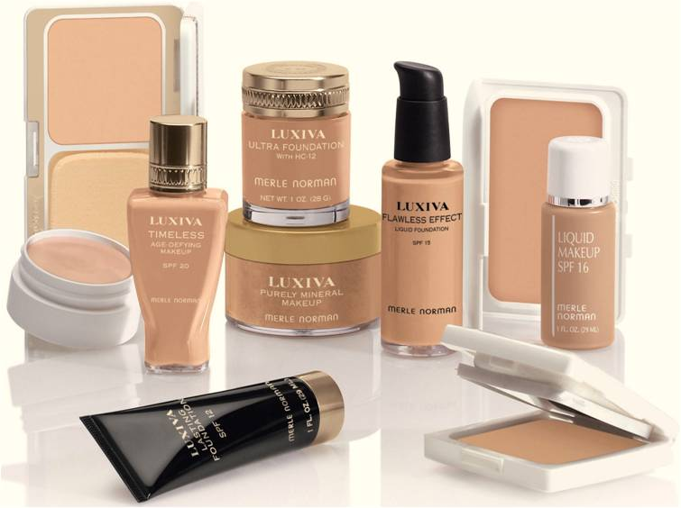 Types of makeup foundation for Different foundation types