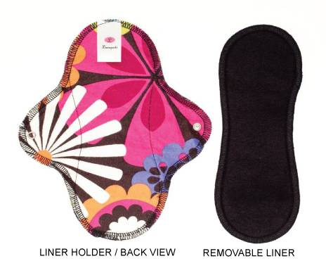 Washable reusable sanitary pad