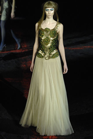 Alexander McQueen gowns for auction