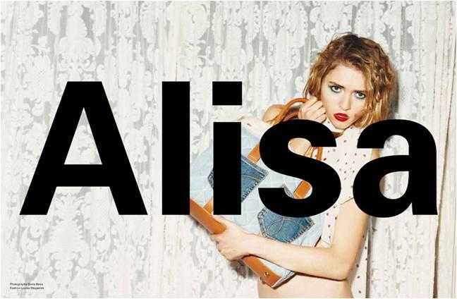 Alisa M for Exit Magazine S-S 2010