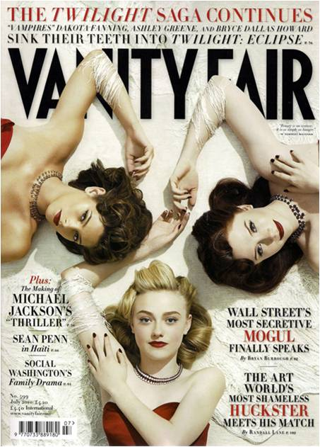 Eclipse stars in Vanity Fair July 2010