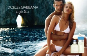 Dolce & Gabbana Light Blue Fragrance ad campaign