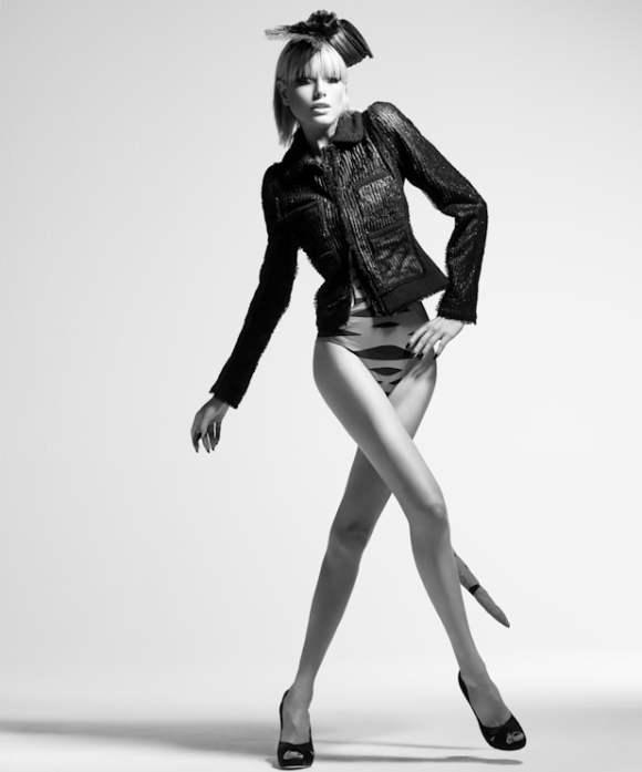 Black Fashion Models Poses: Eugenia Kuzmina For GENLUX Magazine Summer 2010