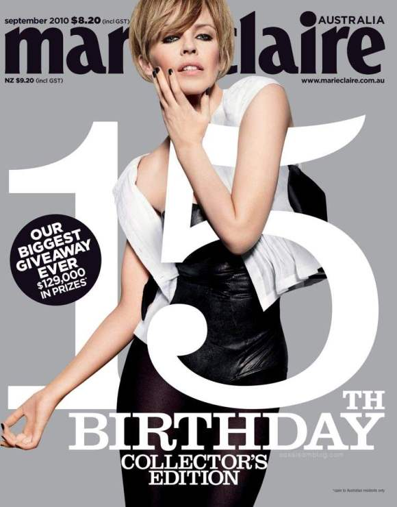 Kylie Minogue Marie Claire Australia September 2010