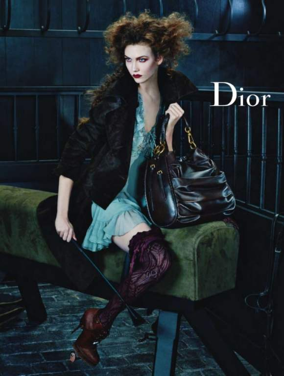 Dior christian fall campaign photo