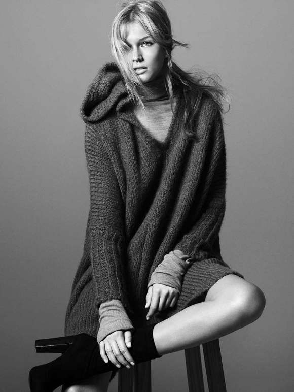 Toni Garrn For Zara Fall 2010 Campaign