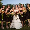 Brides and bridesmaid dresses-gowns-jeweleries