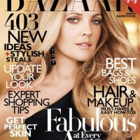 Drew Barrymore Harpers Bazaar US October 2010