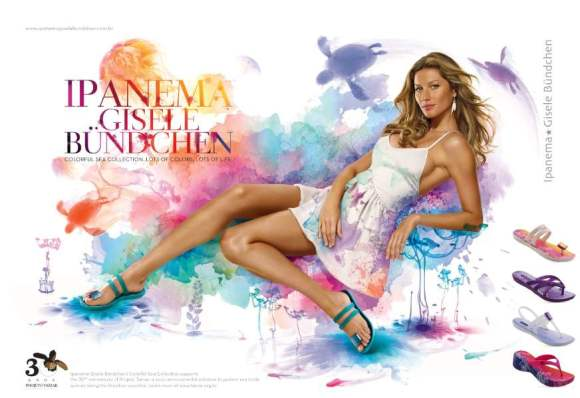 Gisele Bundchen for Ipanema Spring/Summer 2011 Footwear ...