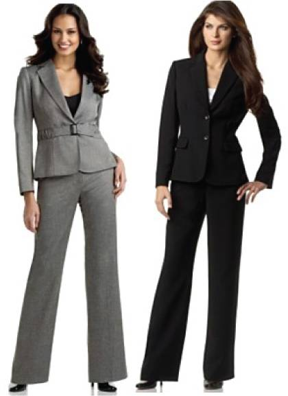 Woman in Formal Wear Suits for Office