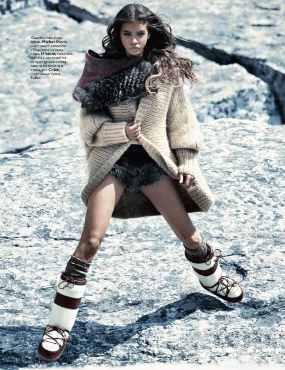 Barbara Palvin For Vogue Russia November 2010