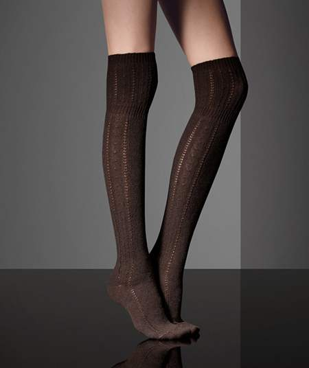 d97386452 Woolen above-the-knee socks from MaxMara Fall 2010-2011 collection