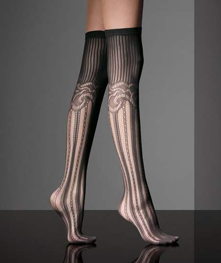cc2374ac9 Knee-high socks from MaxMara Fall 2010-2011 collection