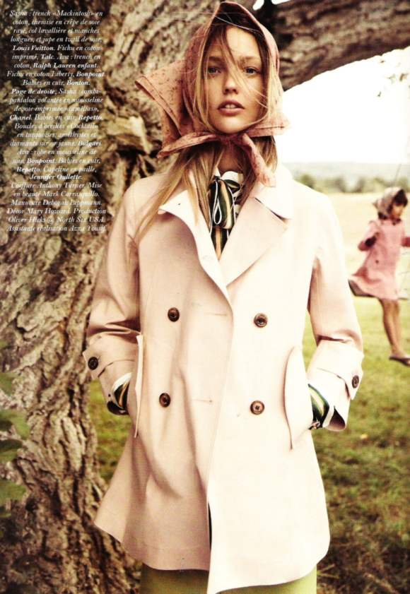 gallery photos sasha pivovarova vogue paris model