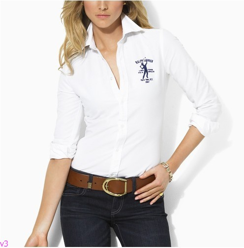 White outfits for women for Womens white button down shirt