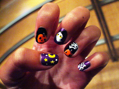 halloween nail art more ideas