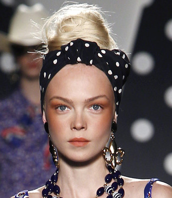hair accessories trend s s 2011 headbands bandanas and gears