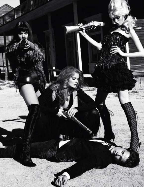 Abbey Lee Kershaw Crystal Eniko Vogue Paris 4