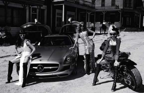 Abbey Lee Kershaw Crystal Eniko Vogue Paris