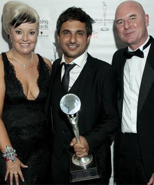 Angelo Seminara wins Hairdresser of the Year Award