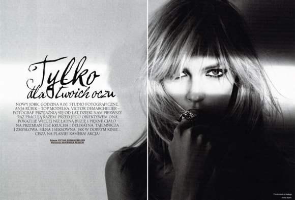 Anja Rubik Viva Moda Winter 2010
