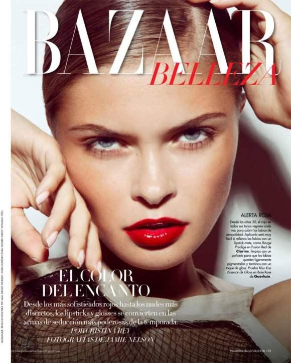 Anna Rudenko Harpers Bazaar Espanol November 2010