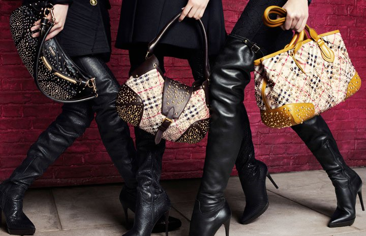 Burberry Autumn-Winter thigh-highs leather boots