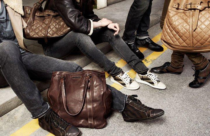 Burberry  mens boots and handbags