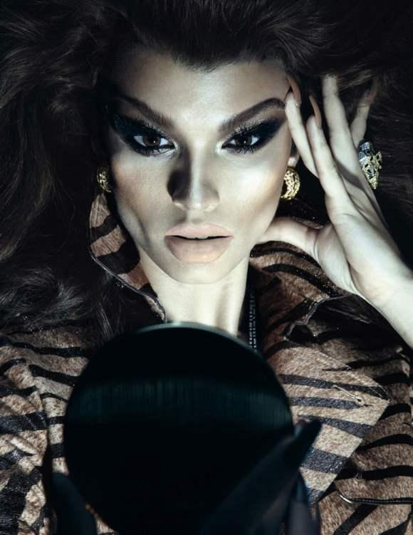 Crystal Renn for Vogue Paris December–January 2011-4